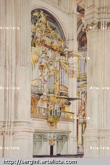 retablo de la catedral de granada Otros Rotulador Cartulina