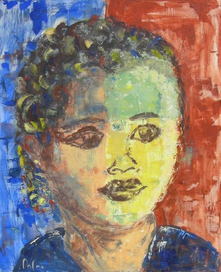 Alysia Portrait Oil Textile