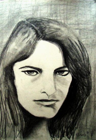 retrato XXXXI Carboncillo