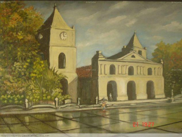 Iglesia de la epoca Colonial La Parroquia de Heredia