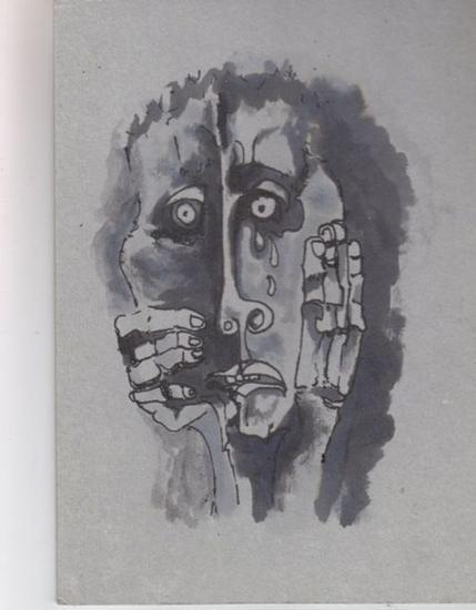 INSPIRADA EN GUAYASAMIN Tinta