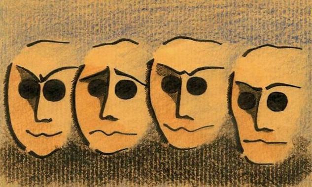 emotions Otros Lienzo Tinta