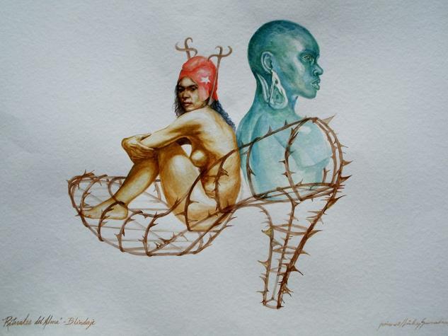 Rituales del Alma-Blindaje Papel Acuarela Desnudos