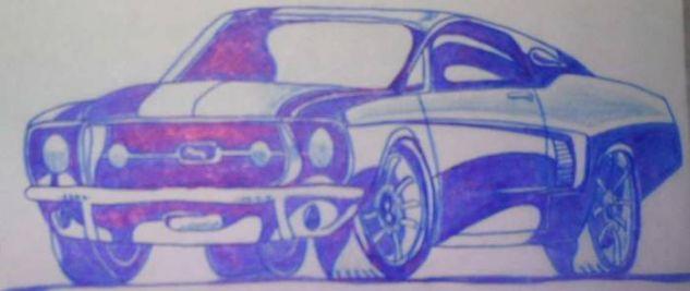 Mustang 67 Rotulador
