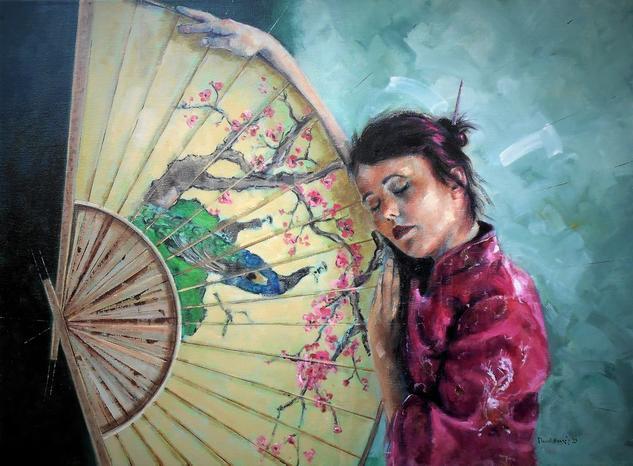 Modelo San Lluc 2020 Figure Painting Oil Canvas