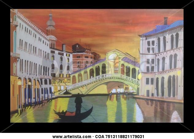 Venezia Lienzo Acrílico Paisaje