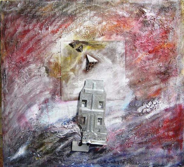 ESTUVE AQUI Mixta Abstracta
