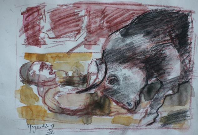 De toros y toreros, cogida mala tarde