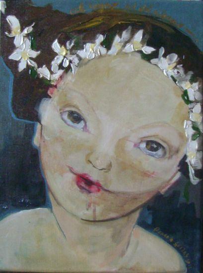 Al sol del silencio Acrílico Lienzo Retrato