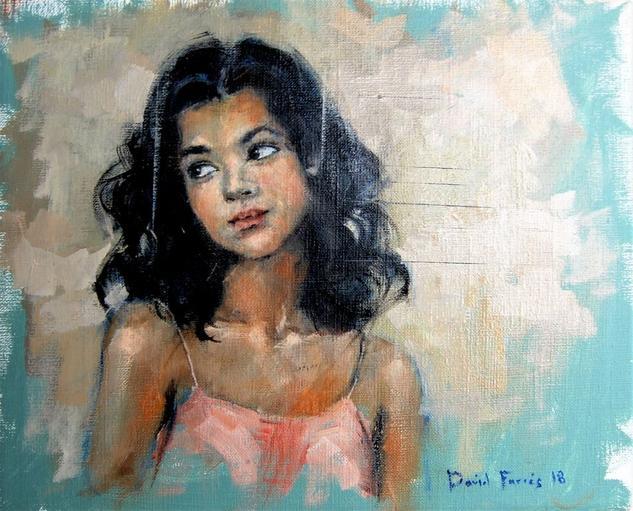 Modelo 002 2018 Canvas Oil Portrait