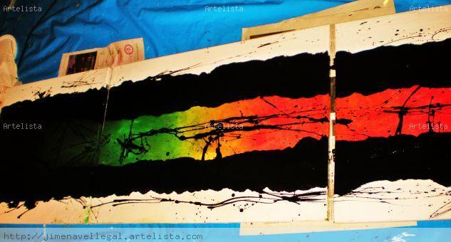 """"""" Utopia """" Acrylic Canvas Others"""