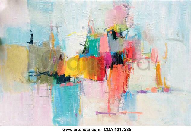 Abstract 815 Otros Acrílico Lienzo