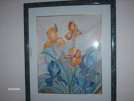 orquuideas 3 Acrílico Lienzo Floral