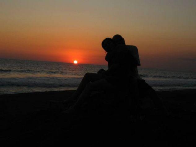 El amanecer del amor.
