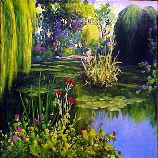 Mi estanque basilio escudero for Pintura para estanques