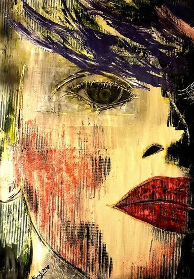 Lucie Retrato Acrílico Otros