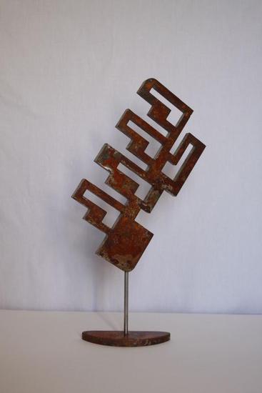 Laberint Abstracta Metal