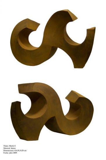 Morfo 8 Abstract Metal