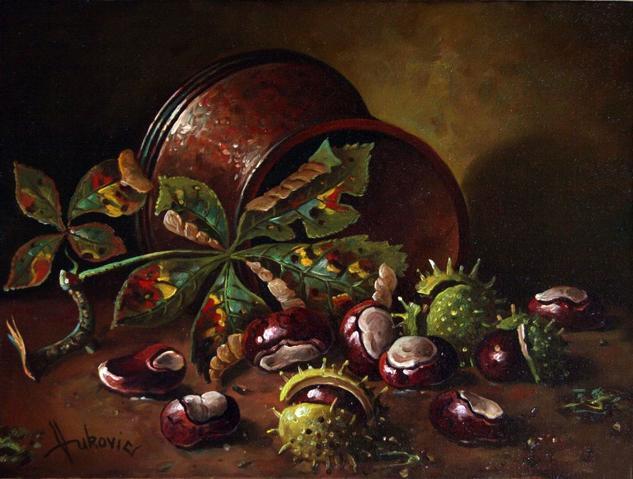chestnuts Lienzo Óleo Otros