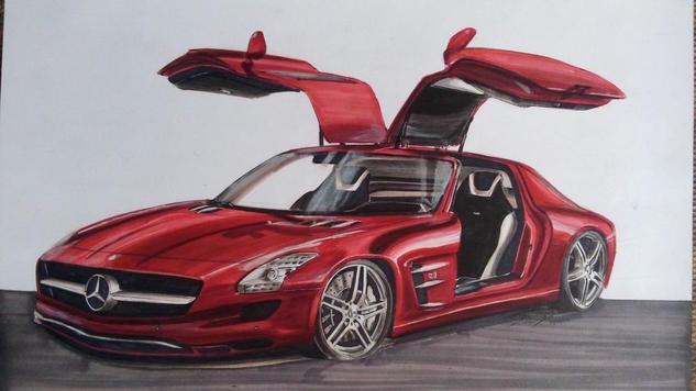 Mercedes AMG Rotulador