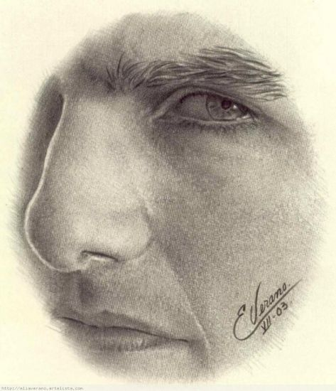 Perfil Tom Cruise Grafito