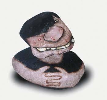 Adolescente Piedra Figurativa