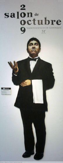 salonero Óleo Lienzo Retrato