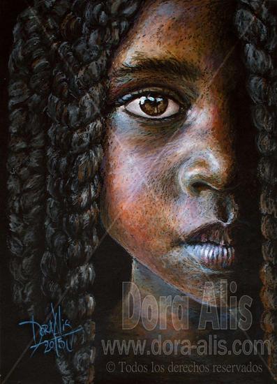 niña de áfrica n.90