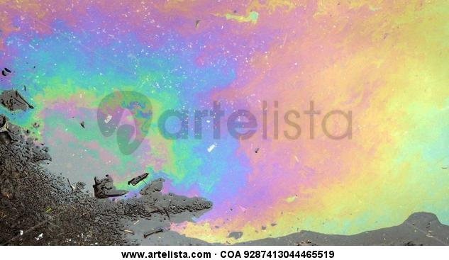 Astral Boreal Solar Color (Digital) Conceptual/Abstracto