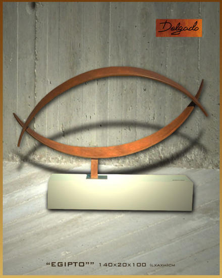 EGIPTO Metal Abstracta