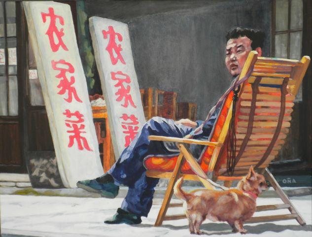 Zhujiajiao Acrílico Lienzo Retrato