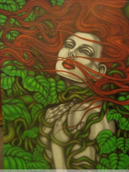Leyenda: La Mujer de Pelo Rojo