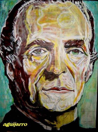 Juan Carlos I, Rey de España Acrylic Panel Portrait
