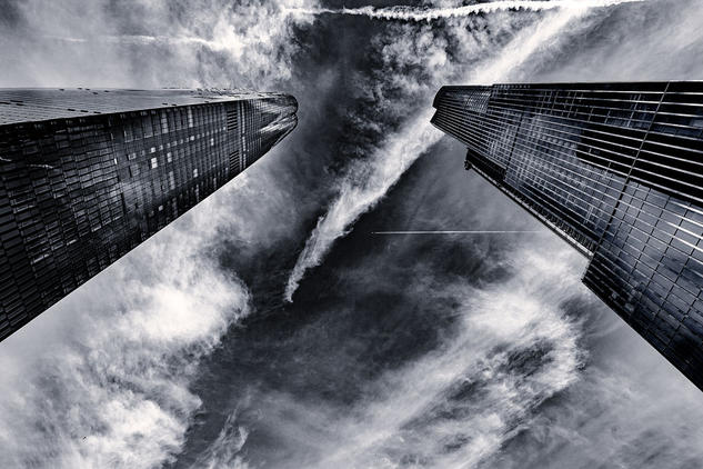 Hudson Yards II Architecture and Interiorism Black and White (Digital)