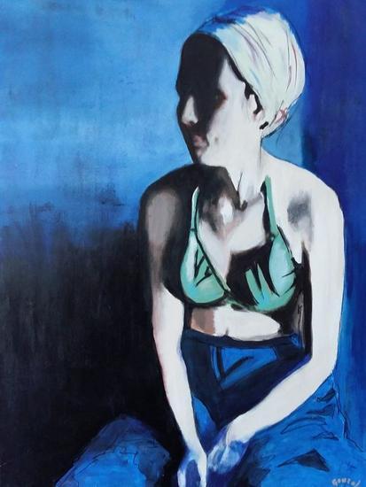 Norma Lienzo Acrílico Retrato
