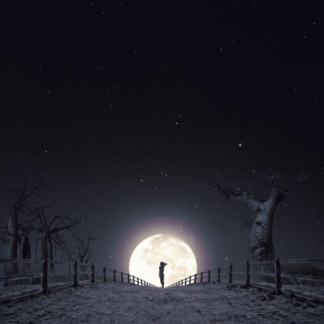 """""""aquella noche de invierno"""" Architecture and Interiorism Black and White (Digital)"""