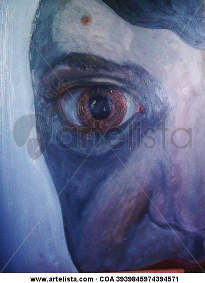 OJOS (serie) Óleo Retrato Tabla
