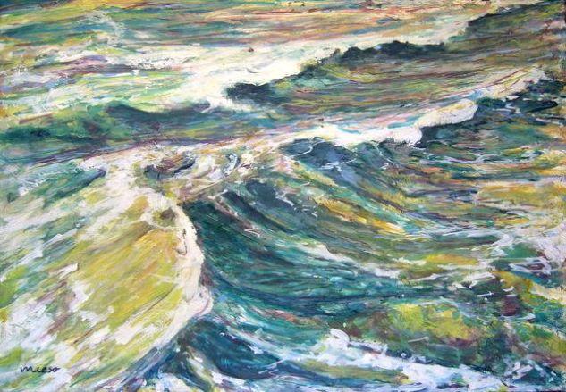 Oleaje Óleo Lienzo Marina