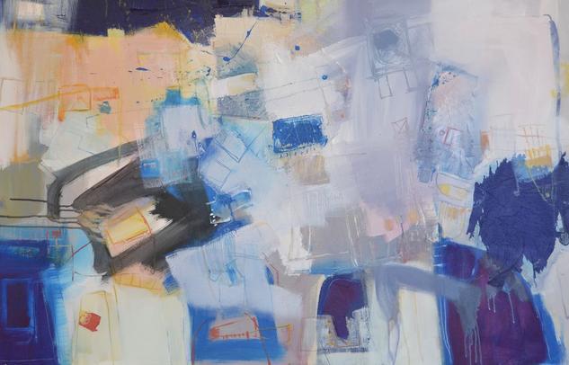 Azul Canvas Acrylic Others
