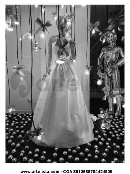 La novia Blanco y Negro (Digital) Publicidad y moda