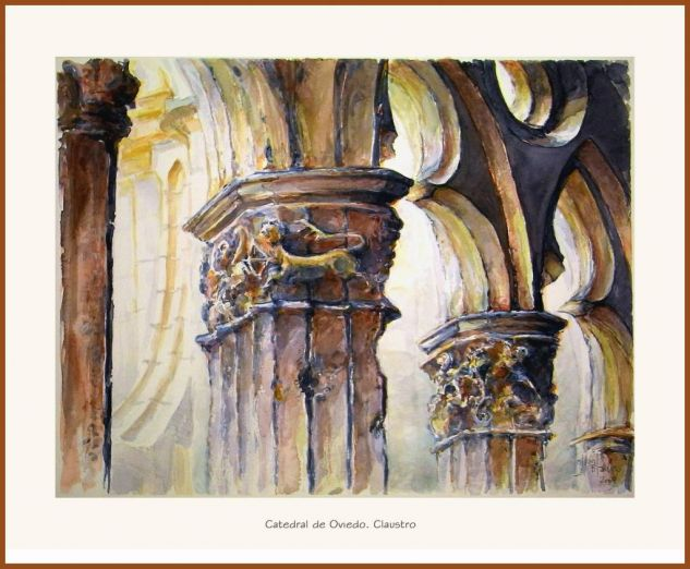 Catedral de Oviedo, claustro
