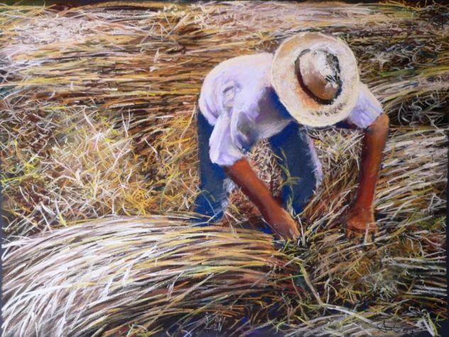 La cosecha Papel Pastel Figura