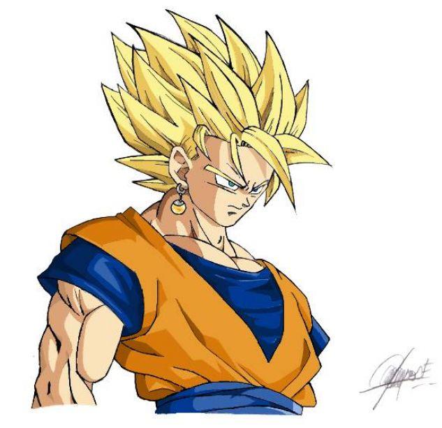 Dibujos De Goku Faciles De Dibujar Imagui Sokolvineyard Com