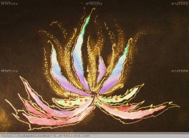 Flor Papel Floral