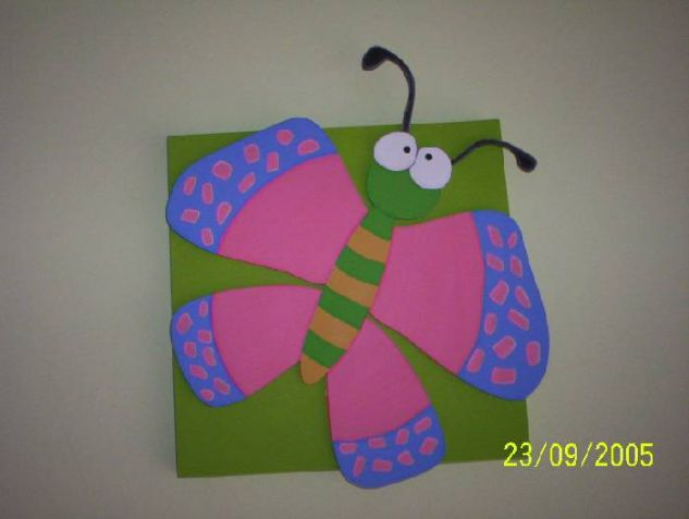 Mariposa Decoración Muebles y Objetos de Madera