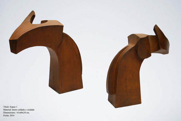 Equus 1 Abstract Metal