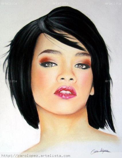 Rihanna Grafito