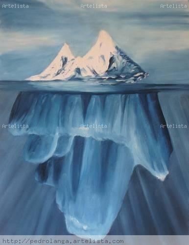Iceberg Marina Tela Media Mixta