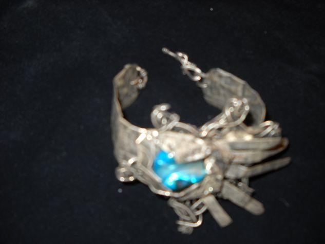 pulsera de plata antigua