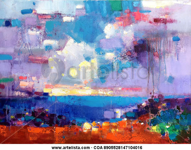 Vibrant colors 317 Canvas Oil Others